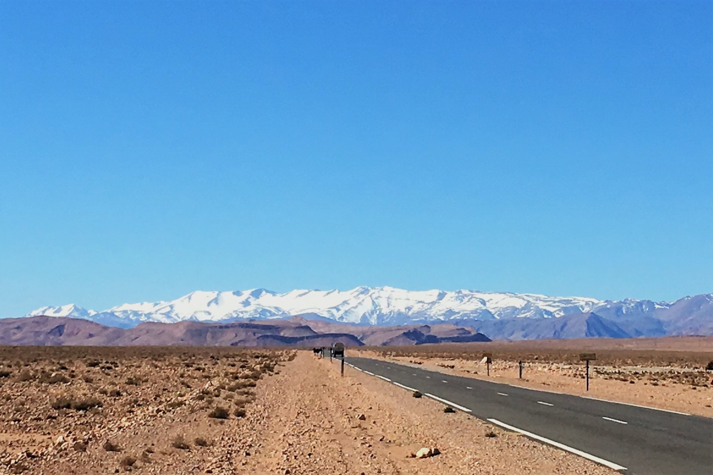 Фото, Марокко, пустыня, Атласские горы